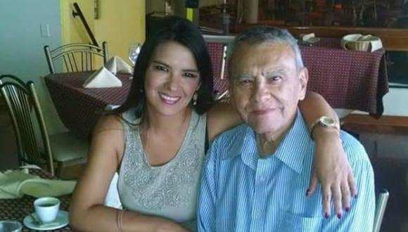 Fátima Saldonid lamenta muerte de su padre con conmovedor mensaje. (Foto: @fatimasaldonid)