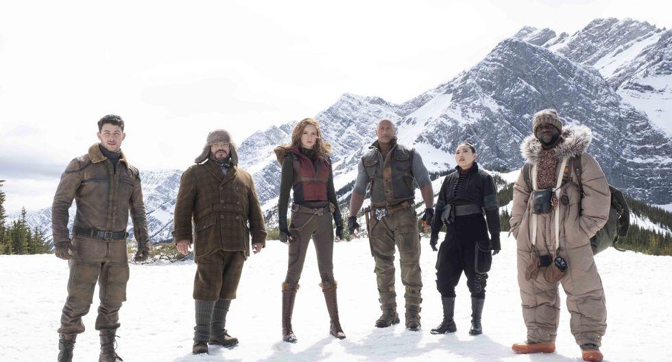 """Sony estrenará la nueva película de """"Jumanji"""" el 25 de diciembre. La nueva aventura promete llevar a los actores """"al siguiente nivel""""."""