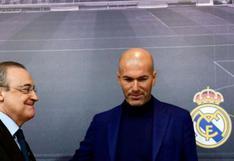 "Florentino Pérez sobre Zidane: ""Luché para que se quedará, intenté convencerle"""