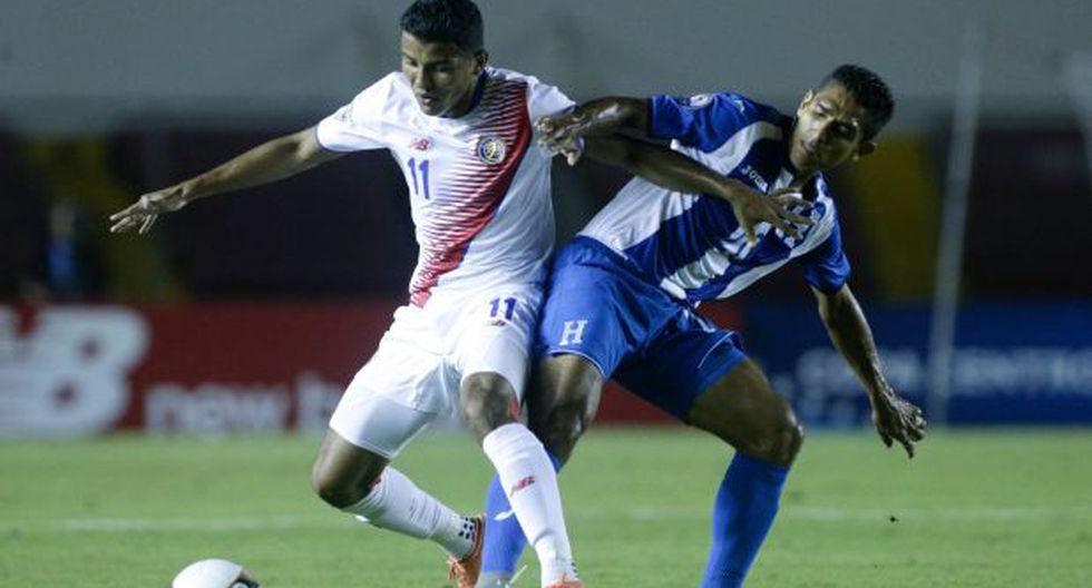 Honduras empató 1-1 con Costa Rica por la Copa Centroamericana