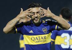 Boca Juniors vs. Libertad: Eduardo Salvio convirtió el 1-0 a los cinco minutos de juego | VIDEO