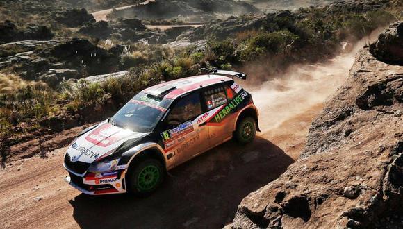 WRC2: Nicolás Fuchs retoma la punta del Rally de Argentina