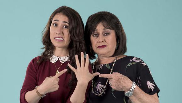 Patricia Barreto y Angélica Aragón son las protagonistas de 'No me digas solterona'. (Créditos: Big Bang FIlms)