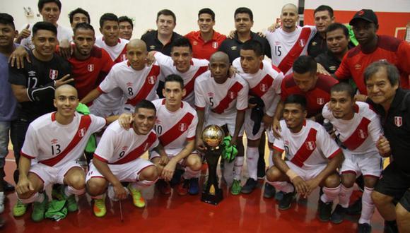 Selección peruana de futsal: lista oficial para la Copa América