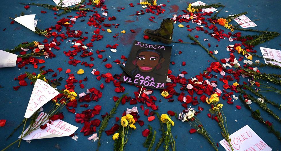 They bury Victoria Salazar, the Salvadoran murdered in Mexico