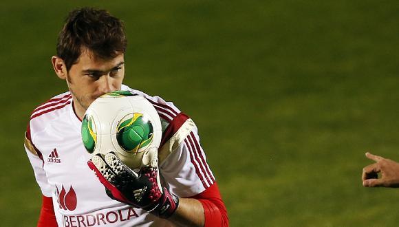 Casillas cumplió un año como suplente de Real Madrid en la Liga