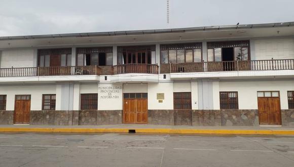 La Municipalidad de Moyobamba, en San Martín, está en la mira del Ministerio Público.  (Crédito: Moyobamba Noticias)