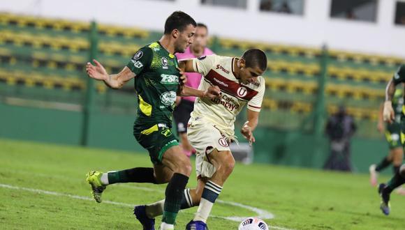 Defensa y Justicia derrotó por 3-0 a Universitario por Copa Libertadores. (Foto: Universitario de Deportes)