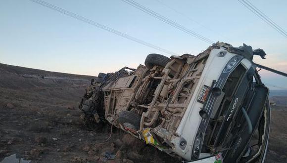 Este viernes, un bus se despistó en la Carretera Interoceánica provocando la muerte de 22 personas. (Foto: PNP)