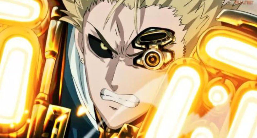 """Genos dio todo de sí en el último episodio de la segunda temporada de """"One Punch Man"""" (Foto: Crunchyroll)"""