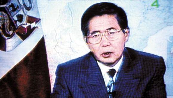 Fujimori escribió carta donde justifica su autogolpe de 1992