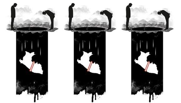 """""""¿Puede alguien entonces sentirse seguro de que si se lanza a revelar un negocio oscuro no se quedará en la calle?""""  (Ilustración: Rolando Pinillos)"""