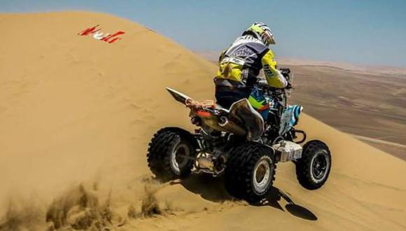 Emilio Choy está corriendo su primer rally Dakar. (Foto: Facebook)