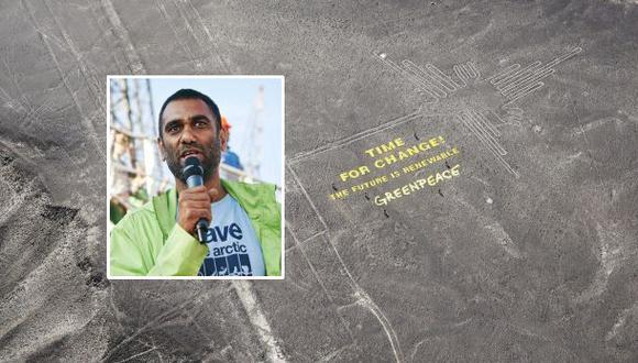 Greenpeace está dispuesta a pagar por los daños en Nasca