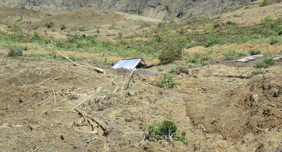 Lluvias en el Vraem: deslizamiento afecta más de 100 hectáreas de cultivos. (Foto: Jorge Quispe)