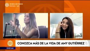 """Amy Gutiérrez podría participar en Viña del Mar: """"Espero ser la próxima representante peruana"""""""