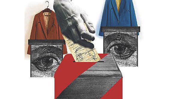 Cambios de identidad política. (Ilustración: Giovanni Tazza para El Comercio)