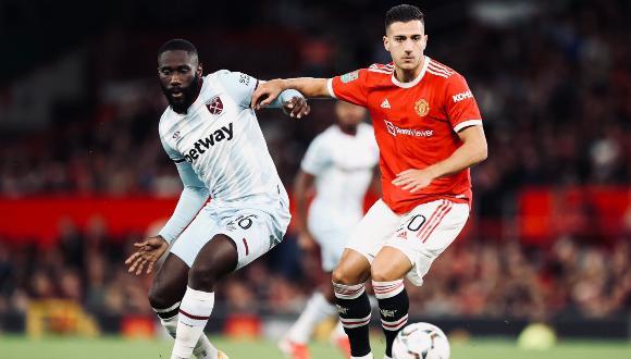 Manchester United cayó 1-0 ante West Ham United por la tercera ronda y quedó eliminado de la Copa de la Liga inglesa.