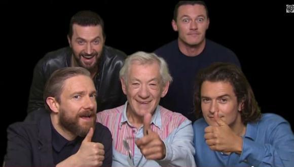 """""""El Hobbit"""": los protagonistas invitan a ver la última entrega"""