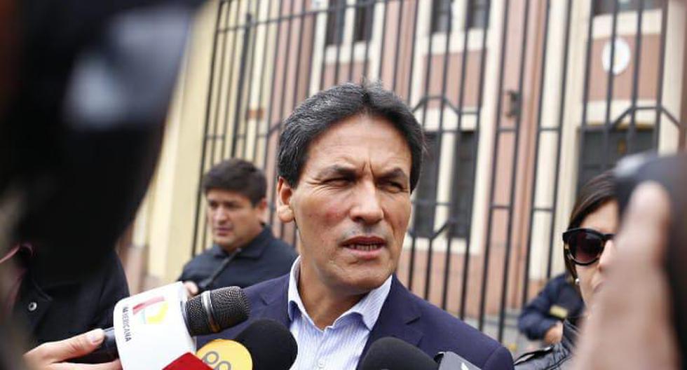 Segundo Tapia, congresista de Fuerza Popular. (Foto: Félix Ingaruca/ El Comercio)