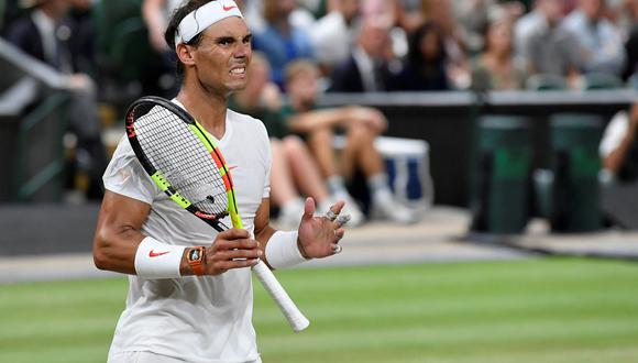 Rafael Nadal batalló a gran nivel ante Novak Djokovic, pero no pudo alcanzar la final. El serbio se medirá ante el sudraficano Kevin Anderson. (Foto: Reuters)