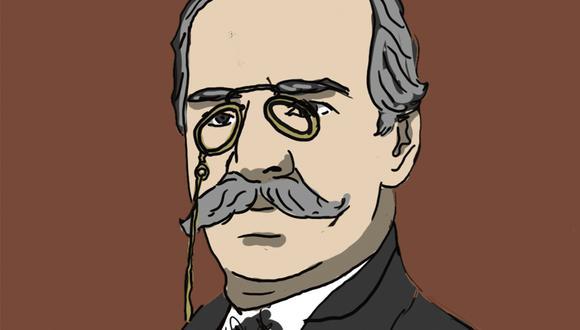 """""""A nombre de la familia agradeció el doctor Clemente Palma con un bello discurso"""". (Ilustración: Giovanni Tazza)."""
