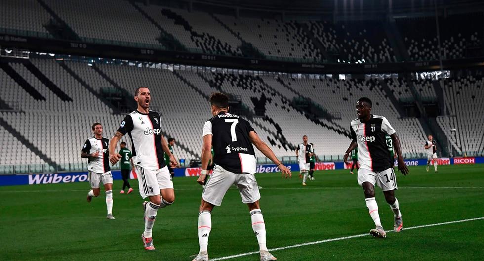 Juventus enfrentó al Atalanta por la Serie A de Italia | Foto: AP/EFE/AFP