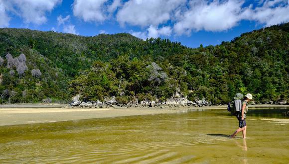 Abel Tasman es uno de los 14 parques nacionales de Nueva Zelanda. (Foto: Getty Images)