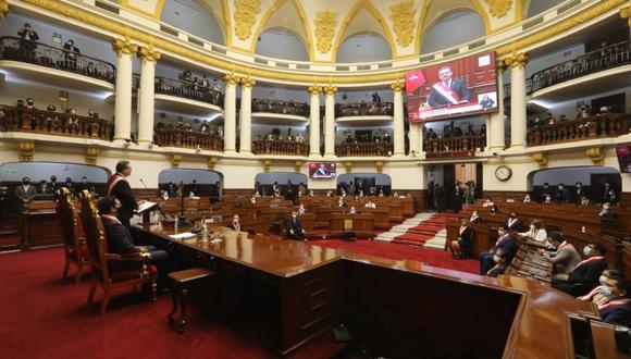 El presupuesto público 2021 ahora está en manos del Congreso y del nuevo gabinete que elija Manuel Merino de Lama. (Foto: Congreso)