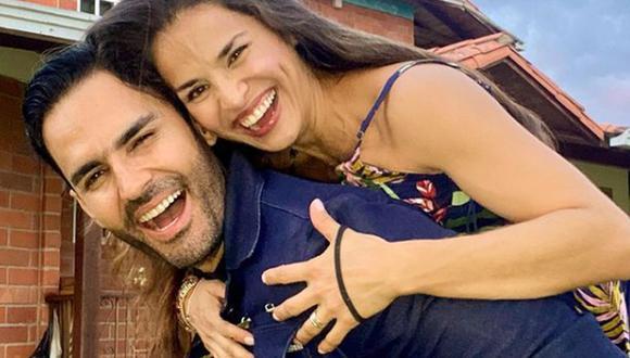 El actor formó una familia con la también actriz Yuly Ferreira. (Foto: Fabián Ríos / Instagram)