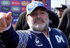 Maradona y su anhelo más grande de cara a su continuidad en Gimnasia y Esgrima La Plata | VIDEO