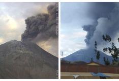 Moquegua: se registran nuevas explosiones del volcán Ubinas y dispersión de cenizas