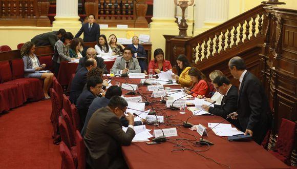 Comisión de Justicia acuerda invitar al ministro Vicente Zeballos y al defensor del Pueblo (Foto: Juan Ponce / GEC)