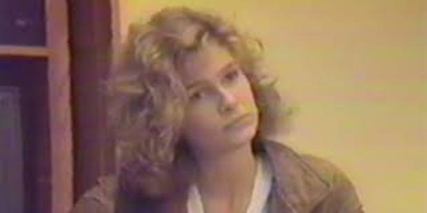 Kyra Sedgwick auditioning for Jennifer, Marty McFly's girlfriend.