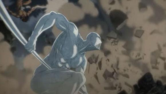 """El titán Martillo de Guerra es uno de los más poderosos de """"Shingeki no Kyojin"""", aunque también uno de los más misteriosos (Foto: Crunchyroll)"""