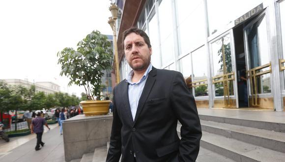 Jorge Paredes Terry, un político transversal, formado en el enlace parlamentario, y un caso de terciarización política. (Foto: GEC)