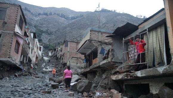 Indeci reporta más de 49.000 damnificados por eventos naturales