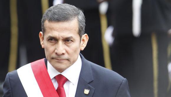 Humala es el presidente con menos aprobación en Latinoamérica