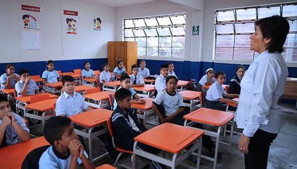 El presidente Martín Vizcarra anunció en conferencia de prensa que las clases escolares presenciales ya no se retomarán el 4 de mayo como estaba anunciado (Foto: Andina)