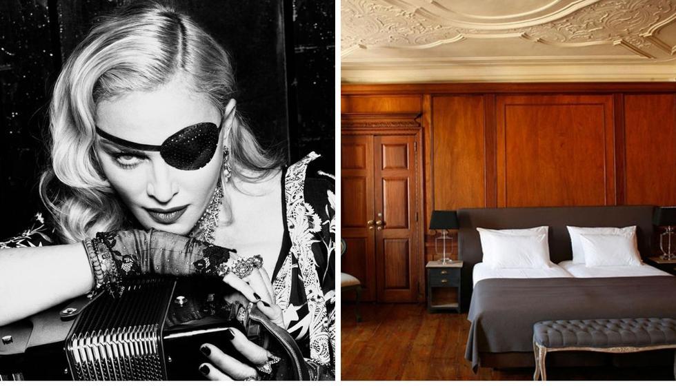 Madonna ha vivido en dos palacios en menos de 5 años. (Foto: @madonna y palace-ramalhete.com)
