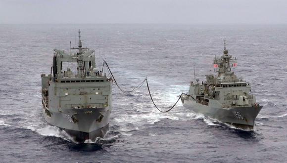 Malasia: buques inician rastreo submarino de avión desaparecido