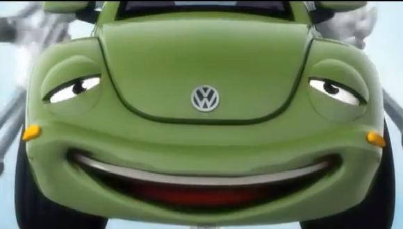 VIDEO: Volkswagen se inspira en 'Cars' con estos anuncios