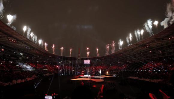 Más de cincuenta mil personas presenciaron la Clausura de los Juegos Panamericanos 2019. (Foto: Jesús Saucedo).