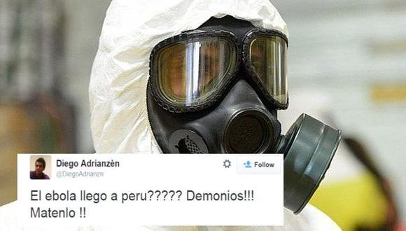 Twitter: así reaccionaron tuiteros tras alerta de ébola en Perú