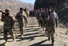 Los talibanes dicen que ganan terreno en el último bastión de la resistencia