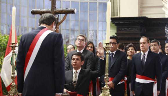 """Jorge Meléndez comentó a """"Punto final"""" que el presidente Vizcarra no lo llamó, sino que fue él quien solicitó una reunión para presentarle su renuncia. (Foto: Presidencia)"""