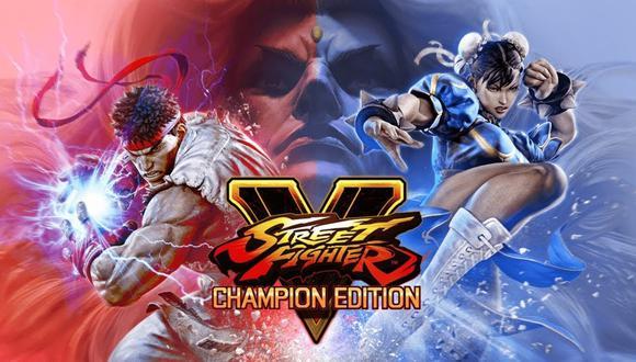 Street Fighter V: Champion Edition es la última versión de Street Fighter V. (Difusión)
