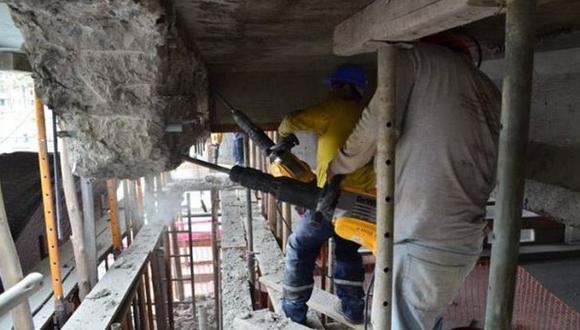 Vigas del dañado puente Brasil son restituidas por Emape