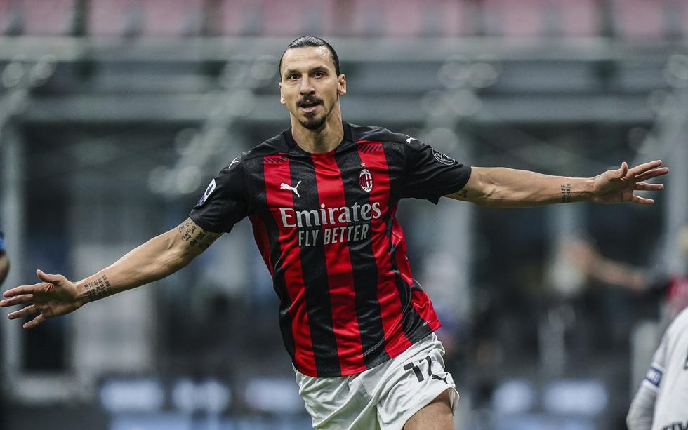 AC Milan enfrentó al Inter en una nueva versión del derbi de la ciudad por la Serie A   Foto: AP/AFP/EFE