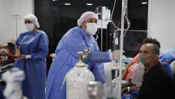 Coronavirus en Paraguay | Últimas noticias | Último minuto: reporte de infectados y muertos hoy, lunes 26 de abril del 2021 | Covid-19 | (Foto: AP/Jorge Saenz).